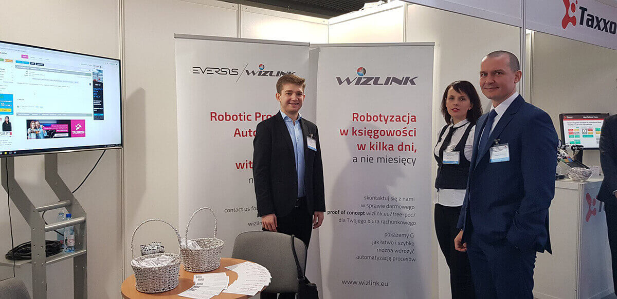 Wizlink at the 1st National Congress of Accounting Offices in Kielce