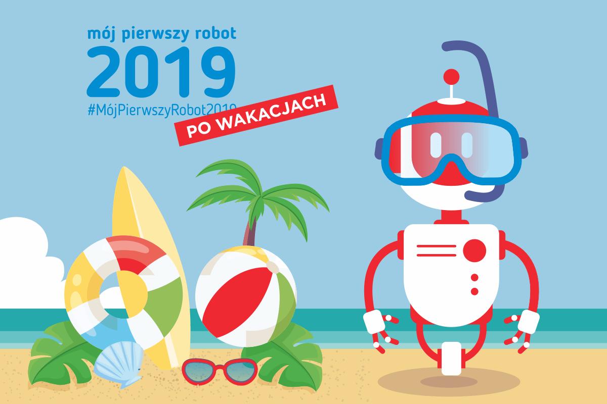 Read more about the article Podsumowanie wakacyjnych szkoleń w ramach akcji #MójPierwszyRobot2019