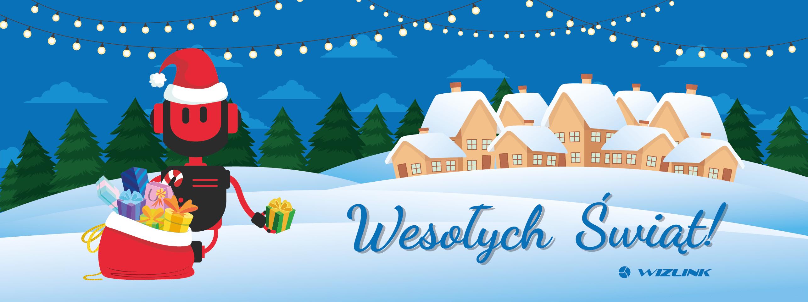 Read more about the article Świąteczne życzenia od Wizlink