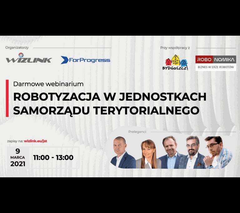 Read more about the article Robotyzacja w jednostkach samorządu terytorialnego – bezpłatny webinar